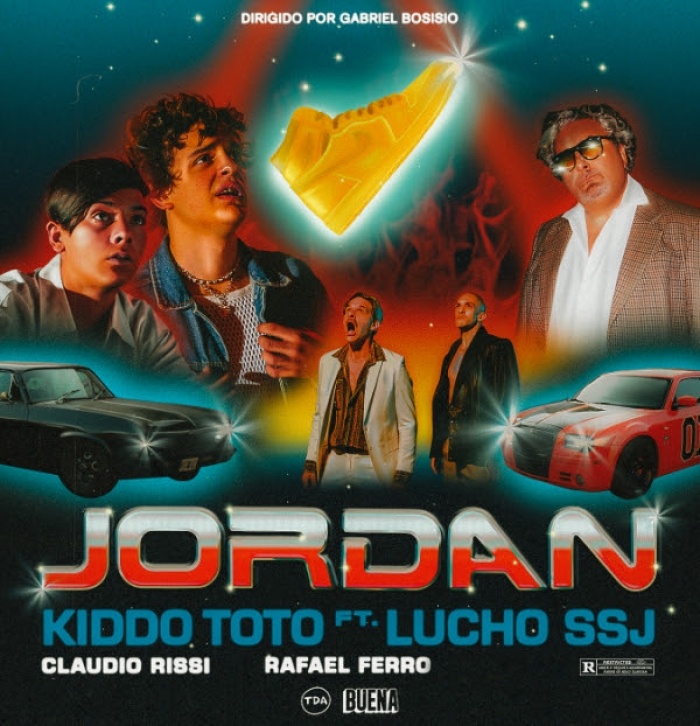"Kiddo Toto presenta ""Jordan"" feat Lucho SSJ, su nuevo single y video!"
